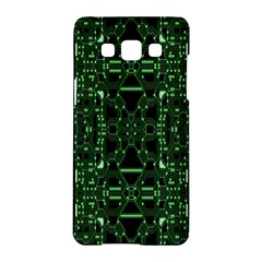 An Overly Large Geometric Representation Of A Circuit Board Samsung Galaxy A5 Hardshell Case  by Simbadda