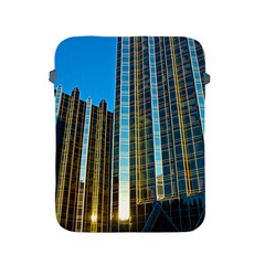 Two Abstract Architectural Patterns Apple Ipad 2/3/4 Protective Soft Cases by Simbadda