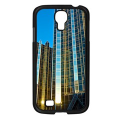 Two Abstract Architectural Patterns Samsung Galaxy S4 I9500/ I9505 Case (black) by Simbadda