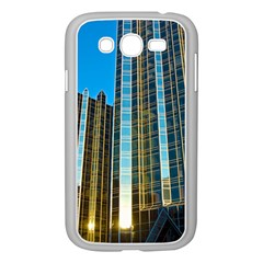 Two Abstract Architectural Patterns Samsung Galaxy Grand Duos I9082 Case (white) by Simbadda