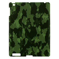 Camouflage Green Army Texture Apple Ipad 3/4 Hardshell Case by Simbadda