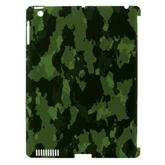 Camouflage Green Army Texture Apple Ipad 3/4 Hardshell Case (compatible With Smart Cover) by Simbadda