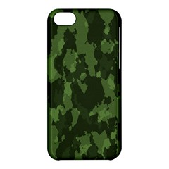 Camouflage Green Army Texture Apple Iphone 5c Hardshell Case by Simbadda