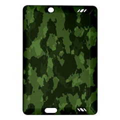 Camouflage Green Army Texture Amazon Kindle Fire Hd (2013) Hardshell Case by Simbadda