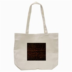 Pixel Pattern Colorful And Glowing Pixelated Tote Bag (cream) by Simbadda