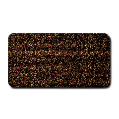 Pixel Pattern Colorful And Glowing Pixelated Medium Bar Mats by Simbadda