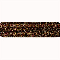 Pixel Pattern Colorful And Glowing Pixelated Large Bar Mats by Simbadda