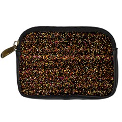 Pixel Pattern Colorful And Glowing Pixelated Digital Camera Cases by Simbadda
