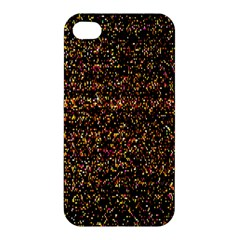 Pixel Pattern Colorful And Glowing Pixelated Apple Iphone 4/4s Premium Hardshell Case by Simbadda