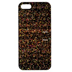 Pixel Pattern Colorful And Glowing Pixelated Apple Iphone 5 Hardshell Case With Stand by Simbadda