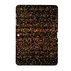Pixel Pattern Colorful And Glowing Pixelated Samsung Galaxy Tab 2 (10 1 ) P5100 Hardshell Case  by Simbadda