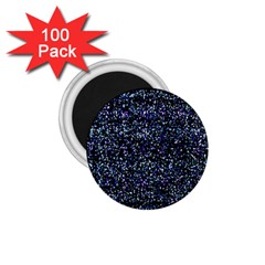 Pixel Colorful And Glowing Pixelated Pattern 1 75  Magnets (100 Pack)  by Simbadda
