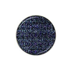 Pixel Colorful And Glowing Pixelated Pattern Hat Clip Ball Marker (4 Pack) by Simbadda