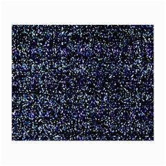 Pixel Colorful And Glowing Pixelated Pattern Small Glasses Cloth by Simbadda