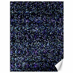 Pixel Colorful And Glowing Pixelated Pattern Canvas 36  X 48   by Simbadda