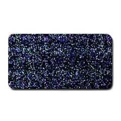 Pixel Colorful And Glowing Pixelated Pattern Medium Bar Mats by Simbadda