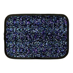 Pixel Colorful And Glowing Pixelated Pattern Netbook Case (medium)  by Simbadda