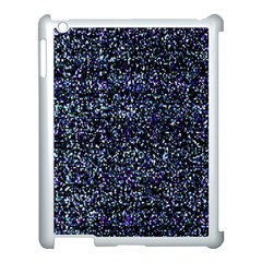 Pixel Colorful And Glowing Pixelated Pattern Apple Ipad 3/4 Case (white) by Simbadda