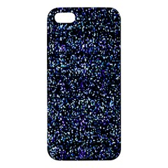Pixel Colorful And Glowing Pixelated Pattern Apple Iphone 5 Premium Hardshell Case by Simbadda