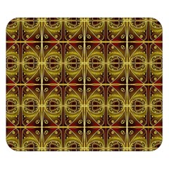 Seamless Symmetry Pattern Double Sided Flano Blanket (small)  by Simbadda