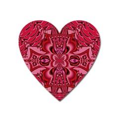 Secret Hearts Heart Magnet by Simbadda