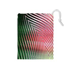 Watermelon Dream Drawstring Pouches (medium)  by Simbadda