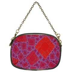 Voronoi Diagram Chain Purses (one Side)  by Simbadda