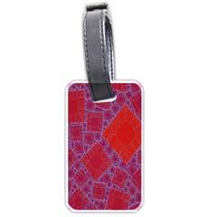 Voronoi Diagram Luggage Tags (two Sides) by Simbadda