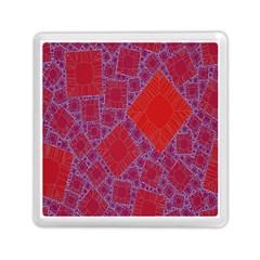 Voronoi Diagram Memory Card Reader (square)  by Simbadda