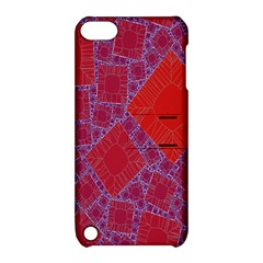 Voronoi Diagram Apple iPod Touch 5 Hardshell Case with Stand