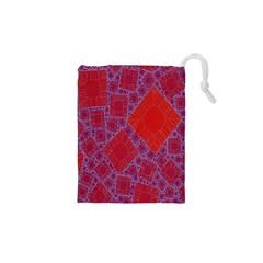 Voronoi Diagram Drawstring Pouches (xs)