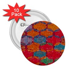 Abstract Art Pattern 2.25  Buttons (10 pack)