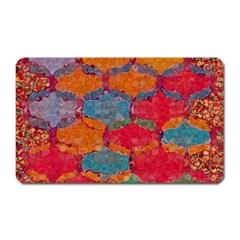 Abstract Art Pattern Magnet (rectangular)