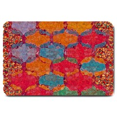 Abstract Art Pattern Large Doormat  by Simbadda