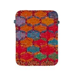 Abstract Art Pattern Apple Ipad 2/3/4 Protective Soft Cases by Simbadda