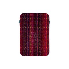 Colorful And Glowing Pixelated Pixel Pattern Apple Ipad Mini Protective Soft Cases by Simbadda