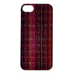 Colorful And Glowing Pixelated Pixel Pattern Apple Iphone 5s/ Se Hardshell Case by Simbadda