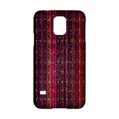 Colorful And Glowing Pixelated Pixel Pattern Samsung Galaxy S5 Hardshell Case  by Simbadda