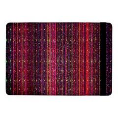 Colorful And Glowing Pixelated Pixel Pattern Samsung Galaxy Tab Pro 10 1  Flip Case by Simbadda