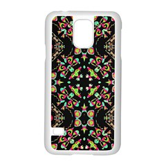 Abstract Elegant Background Pattern Samsung Galaxy S5 Case (white) by Simbadda