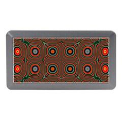 Vibrant Pattern Seamless Colorful Memory Card Reader (mini) by Simbadda