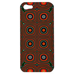 Vibrant Pattern Seamless Colorful Apple Iphone 5 Hardshell Case by Simbadda