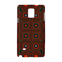 Vibrant Pattern Seamless Colorful Samsung Galaxy Note 4 Hardshell Case by Simbadda