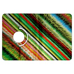 Colorful Stripe Extrude Background Kindle Fire Hdx Flip 360 Case by Simbadda