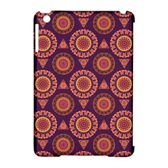Abstract Seamless Mandala Background Pattern Apple Ipad Mini Hardshell Case (compatible With Smart Cover) by Simbadda