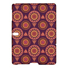 Abstract Seamless Mandala Background Pattern Samsung Galaxy Tab S (10 5 ) Hardshell Case  by Simbadda