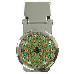 Vibrant Seamless Pattern  Colorful Money Clip Watches by Simbadda