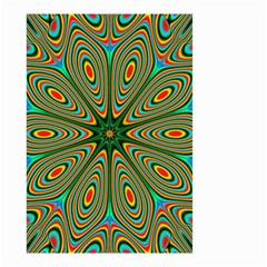 Vibrant Seamless Pattern  Colorful Small Garden Flag (two Sides) by Simbadda