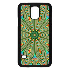 Vibrant Seamless Pattern  Colorful Samsung Galaxy S5 Case (black) by Simbadda
