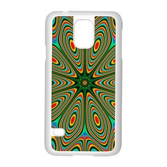 Vibrant Seamless Pattern  Colorful Samsung Galaxy S5 Case (white) by Simbadda
